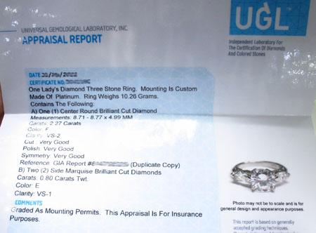 Ladies Diamond Dream Ring Engagement