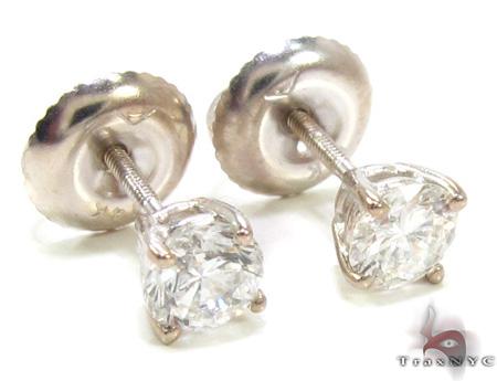 Mens Ladies Diamond Stud Earrings 20555 Style