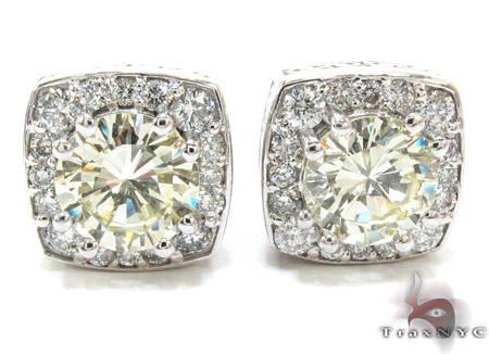 Ladies Diamond Earrings 21978 Stone