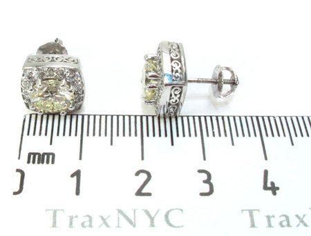 Ladies Diamond Earrings 21978 Stone