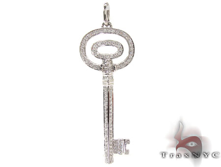 Ladies Diamond Key Pendant 20760 Style