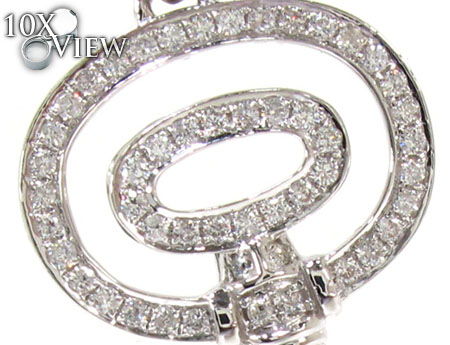 Ladies Diamond Key Pendant 20760 Style