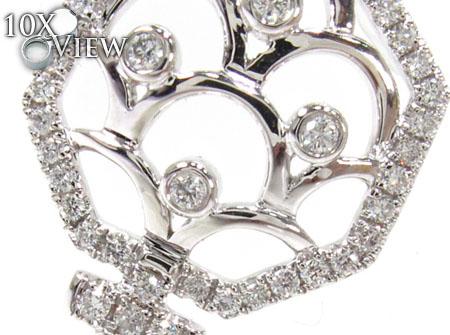 Ladies Diamond Key Pendant 20765 Style