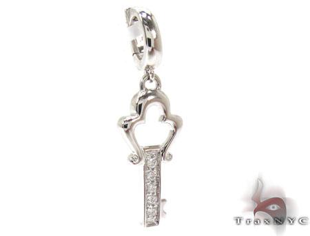 Ladies Diamond Mini Key Pendant 20779 Style