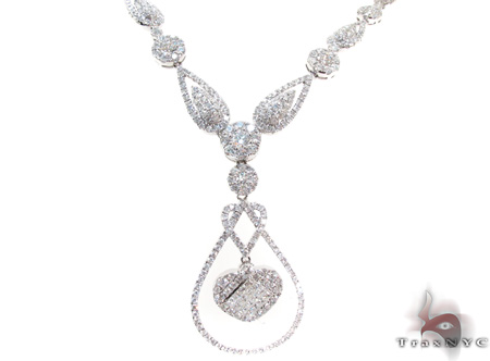Ladies Diamond Necklace 21161 Diamond Necklaces