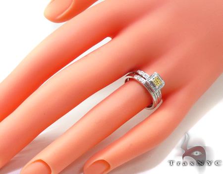 Ladies Diamond Ring Set 20468 Engagement