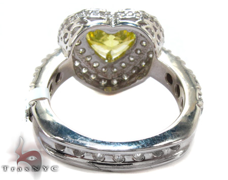 Ladies Heart Cut Diamond Ring 21979 Engagement