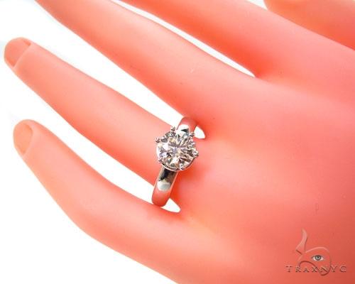 Ladies Diamond Solitaire Engagement Ring Engagement