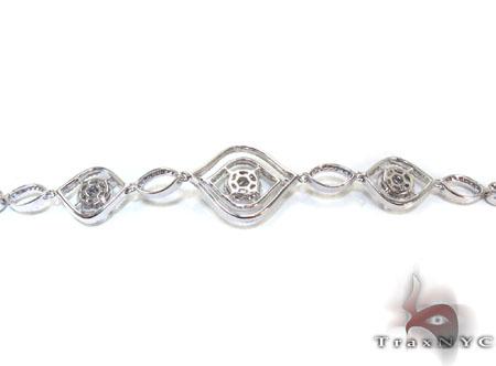 Ladies Invisible Prong Diamond Bracelet 22111 Diamond