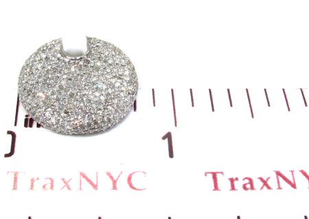 Ladies Pave Diamond Pendant 21528 Stone