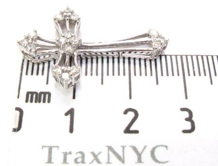 Ladies Prong Diamond Cross 21204 Style