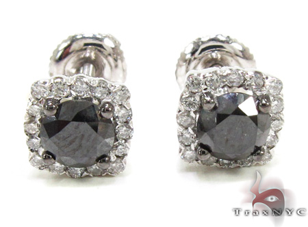 Prong Diamond Earrings 21587 Stone