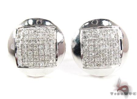 Prong Diamond Earrings 21772 Stone