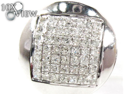 Prong Diamond Earrings 21772 Stone