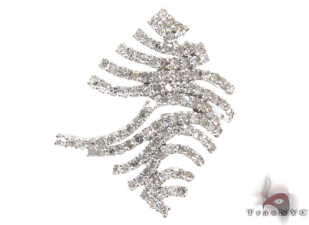 Ladies Prong Diamond Pendant 21529 Diamond Pendants