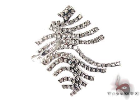 Ladies Prong Diamond Pendant 21529 Stone