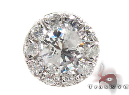 Ladies Prong Diamond Pendant 21591 Stone