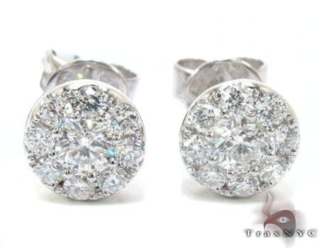 Innovative Kwiat 050ct Tw Diamond Amp Platinum Stud Earrings For Women