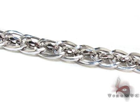 Ladies Silver Bracelet 21852 Silver & Stainless Steel
