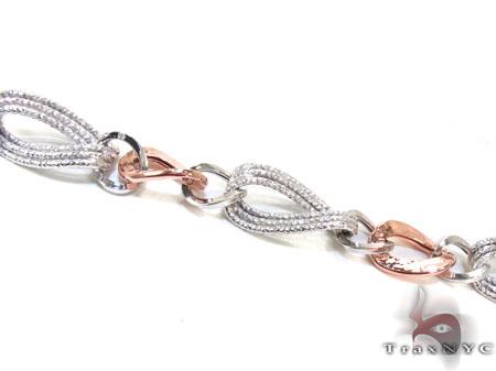 Ladies Silver Bracelet 21860 Silver & Stainless Steel
