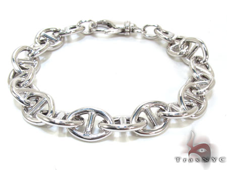 Ladies Silver Bracelet 21864 Silver & Stainless Steel