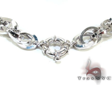 Ladies Silver n 18 Inches 11mm 37.8 Grams Silver