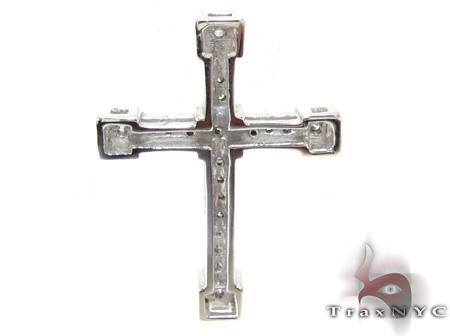 Ladies Prong Diamond Cross 21203 Style