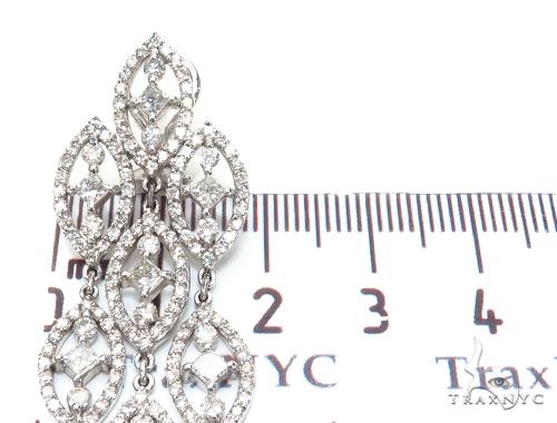 Leto Prong Diamond Earrings & Necklace Set 43814 Diamond