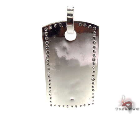 Liner Dog Tag Pendant 2 Style