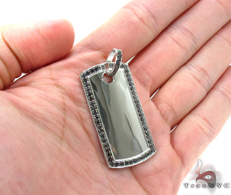 Liner Dog Tag Pendant 3 Style