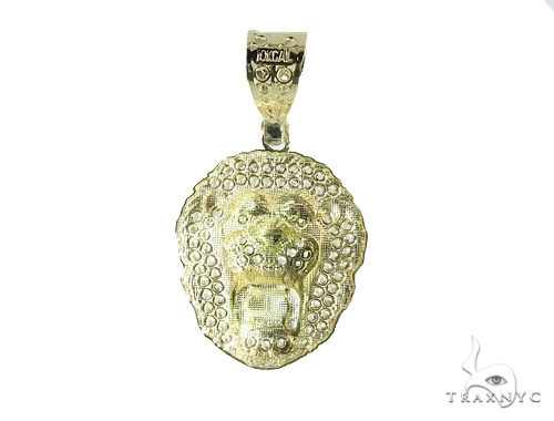 Lion Gold Pendant 49749 Metal