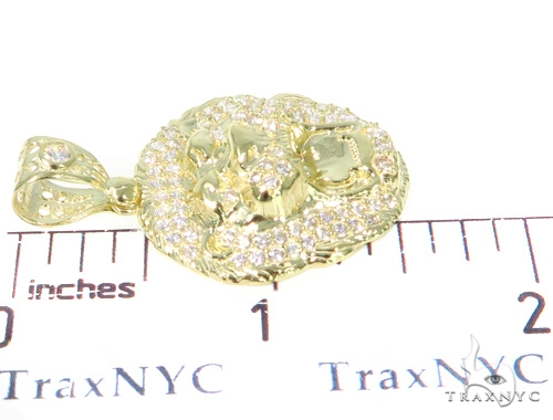 Lion Yellow Gold Pendant 45440 Metal