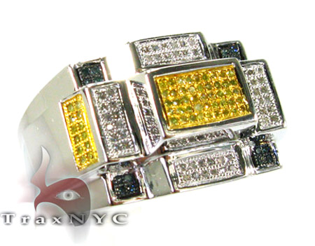 M.C. Rectangle Ring Stone