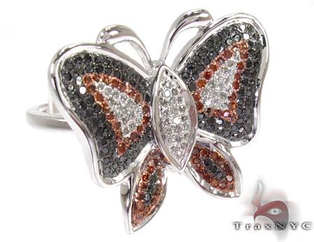 Mahogany Butterfly Ring Anniversary/Fashion