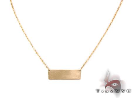 Matt Gold Necklace Gold
