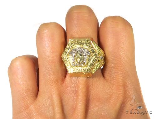 Medusa Gold Ring 45460 Metal