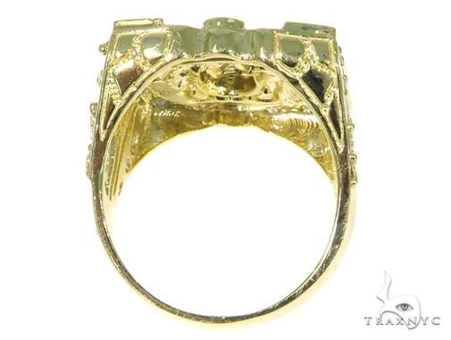 Medusa Gold Ring 45461 Metal