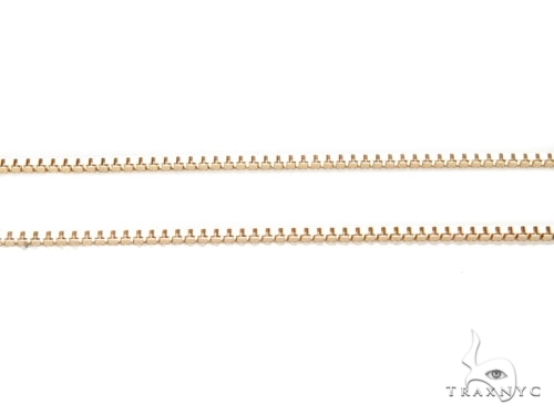 Mens 10k Hollow Yellow Gold Box n n 22 Inches 1mm 3.39 Grams 46907 Gold