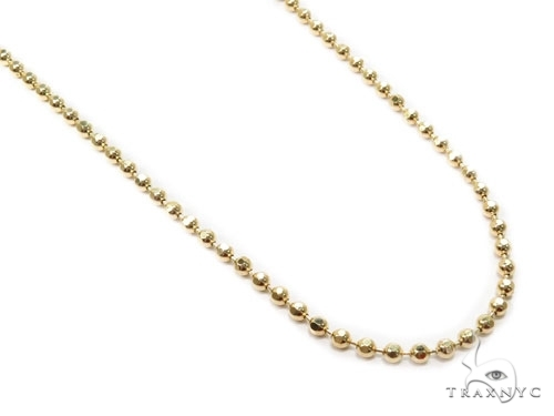 Mens 10k Solid Yellow Gold Ball Chain 30 Inches 2.2mm 11.31 Grams 46810 Gold