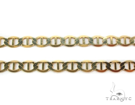 Mens 10k Solid Yellow Gold Gucci Chain 20 Inches 3mm 3.89 Grams 47908 Gold