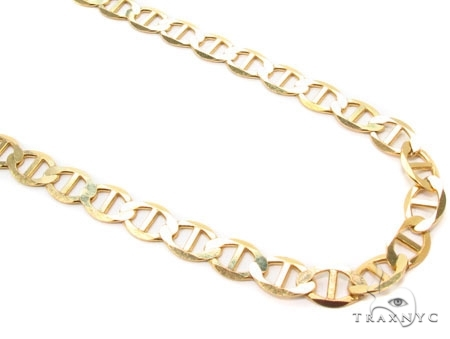Mens 10k Solid Yellow Gold Gucci Chain 22 Inches 3mm 4.23 Grams 47909 Gold