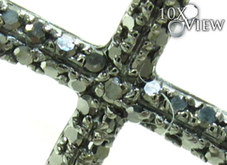 Mens Black Diamond Cross 21176 Diamond
