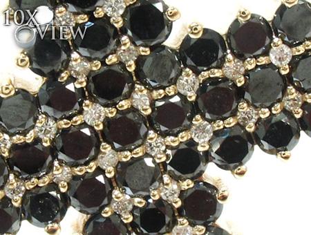 Mens Black Diamond Cross 21881 Diamond