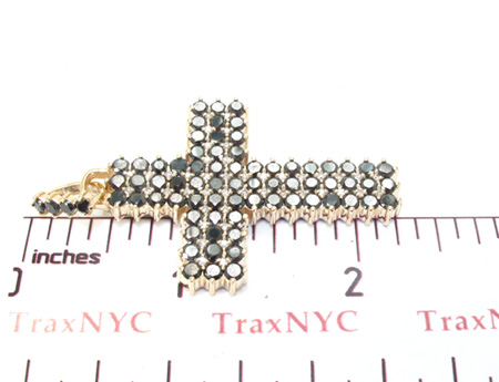 Mens Black Diamond Cross 21881 Diamond