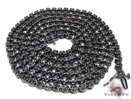 Mens Black Diamond Set 21883 Diamond