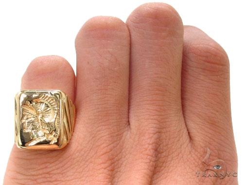 Mens Custom Jewelry Gladiator Ring Metal