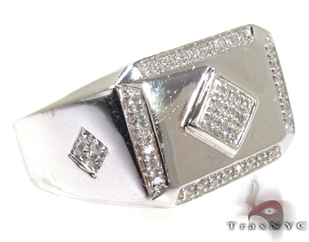 Mens Diamond Ring 20406 Mens Diamond Rings