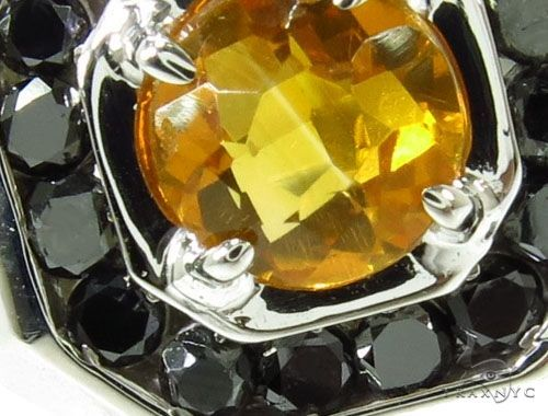 Mens Godfather Madeira Citrine Ring Metal