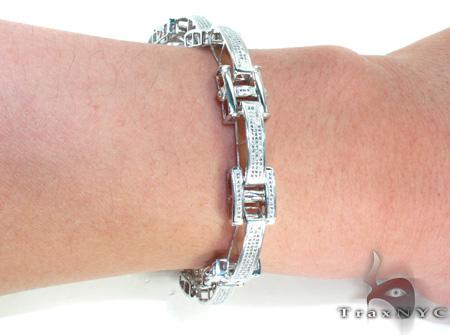 Mens Micro Pave Diamond Bracelet 21391 Diamond