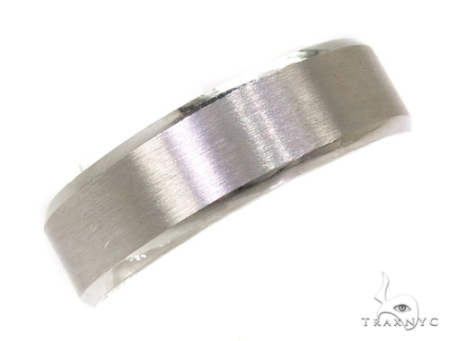 Mens Plain Frosted Wedding Band 39498 メンズ ゴールド 結婚指輪